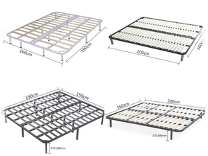We supply LVL bed slats with metal frame for your projects