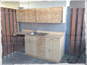 Plywood for kitchen cabinet