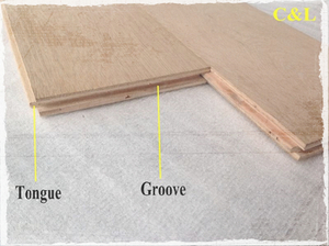 T&G plywood is good for the flooring