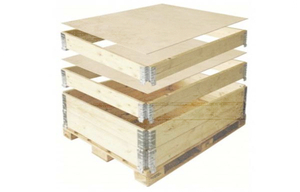 foldable collar pallets it will fit to used plywood LVL and chipboard