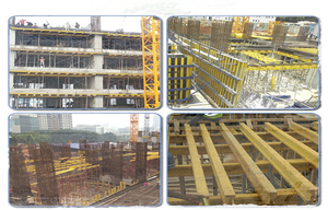 H20beam used as structural part is good for contruction site