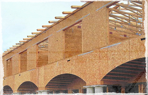 OSB is great fit for house construction